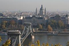 Widok Budapest, rok 2008 Zdjęcie Stock