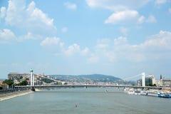 Widok Budapest Węgry Fotografia Stock