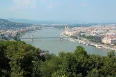 Widok Budapest Węgry Zdjęcia Royalty Free