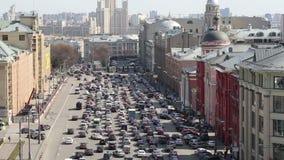 Widok budynek Środkowy dziecka ` s sklep na Lubyanka otwierał w Kwietniu 2015 po rozległej odbudowy, Moskwa, Ru zbiory