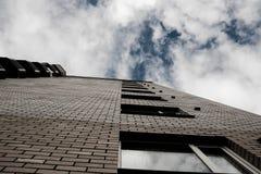 Widok budynek od dna up Obraz Stock