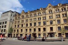 Widok budynek skarbiec Rosja Obraz Royalty Free