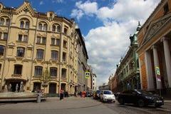 Widok budynek skarbiec Rosja Fotografia Stock
