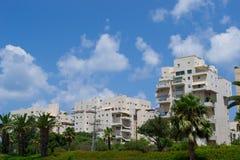 Widok budynki na Tel Aviv ulicie Fotografia Royalty Free