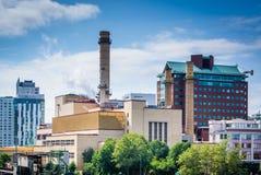 widok budynki przy Massachusetts Institute Of Technology, Zdjęcia Stock