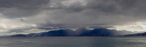Widok burzowy morze Zdjęcia Stock
