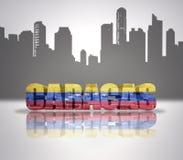 Widok Caracas Obraz Royalty Free