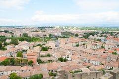 Widok Carcassonne miasteczko Obrazy Royalty Free