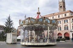 Widok Carousel Fotografia Stock
