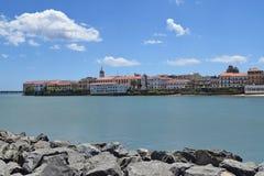Widok Casco Viejo, Panamski miasto zdjęcia royalty free