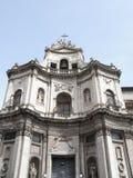 Widok Catania agata sant katedra Zdjęcie Royalty Free