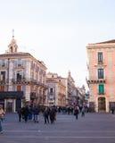 Widok Catania ulica Obrazy Royalty Free