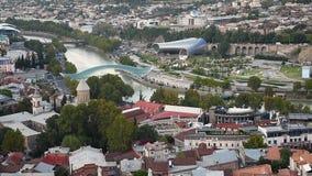 Widok centrum miasta Tbilisi Gruzja zbiory wideo