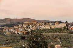 Widok Chianciano Terme Zdjęcie Royalty Free