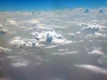 Widok chmury z góry chmury zdjęcia royalty free