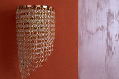Widok ścienny luminaire Fotografia Royalty Free