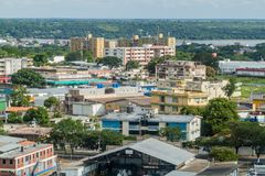 Widok Ciudad bolivar zdjęcie stock