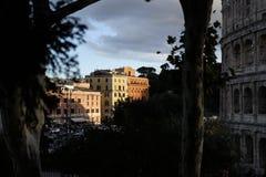 Widok Colosseum zdjęcie stock