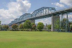 Widok Coolidge park, Chattanooga, Tennessee zdjęcie royalty free