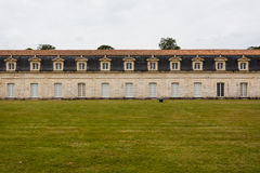 Widok Corderie Royale w Rochefort Obrazy Stock