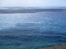 Widok corniglia wybrzeże, pięć ziemi Włochy b Zdjęcia Stock