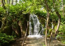 widok Croatia jezior park narodowy plitvice widok Fotografia Stock