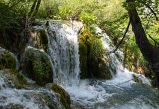 widok Croatia jezior park narodowy plitvice widok Zdjęcia Stock