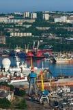 Widok część Vladivostok Rosja 13 06 2015 Zdjęcie Royalty Free
