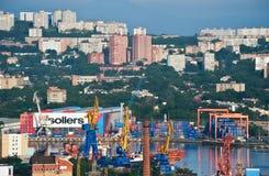 Widok część Vladivostok Rosja 13 06 2015 Obraz Royalty Free