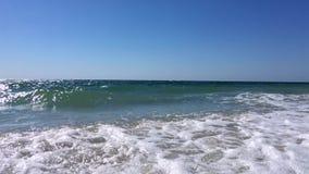 Widok Czarny morze zbiory wideo