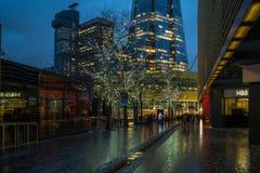Widok czerep, Londyn UK Fotografia Royalty Free