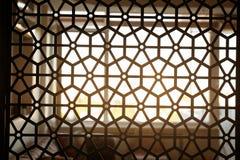 Widok dekoracyjny divider w wnętrzu obrazy stock