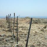 Widok Desertic krajobraz Fotografia Stock