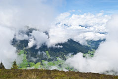 Widok dolina Zdjęcia Stock