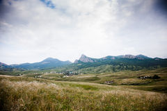 Widok dolina Zdjęcie Royalty Free