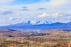 Widok dolina indyk Obrazy Stock