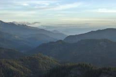 Widok dolina od Blewett przepustki Zdjęcia Royalty Free