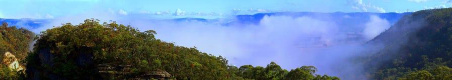 widok doliny Fotografia Royalty Free
