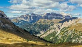 Widok dolomit góry Zdjęcia Royalty Free