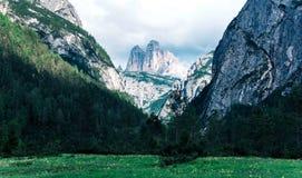 Widok dolomit góry w Włochy Obrazy Royalty Free