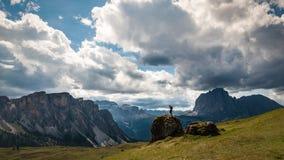 Widok Dolomiti góry Zdjęcie Royalty Free