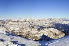 Widok dolomity, Włochy Zdjęcia Royalty Free