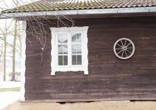 Widok drewniany buiding Fotografia Stock
