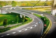 Widok drogowy złącze Zdjęcie Stock