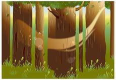 Widok drzewa ilustracji