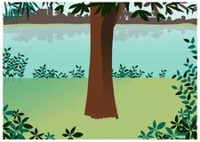 Widok drzewa royalty ilustracja