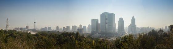 Widok duży miasto zdjęcia stock