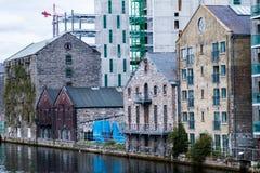 Widok Dublin miasto, Irlandia obraz royalty free