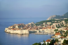 Widok Dubrovnik w Croatia Fotografia Royalty Free