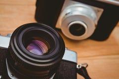 Widok dwa starej kamery Obraz Royalty Free